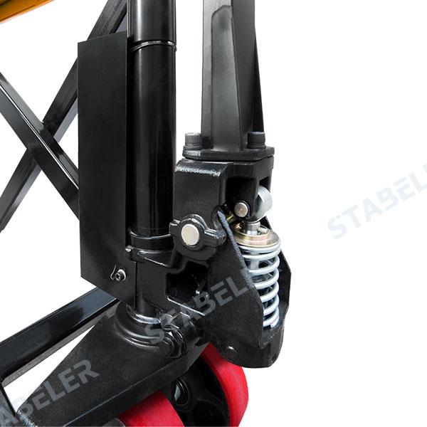Гидравлическая тележка с подъемом JF-1500